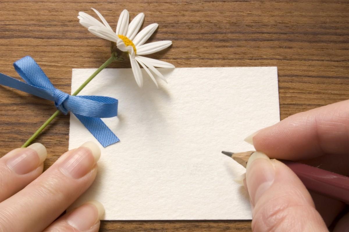 Tips voor het schrijven van een condoleance kaart
