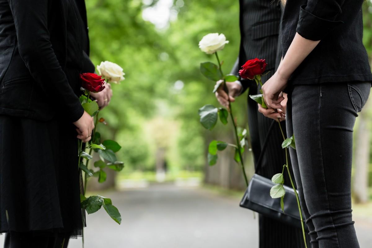 etiquette op een begrafenis