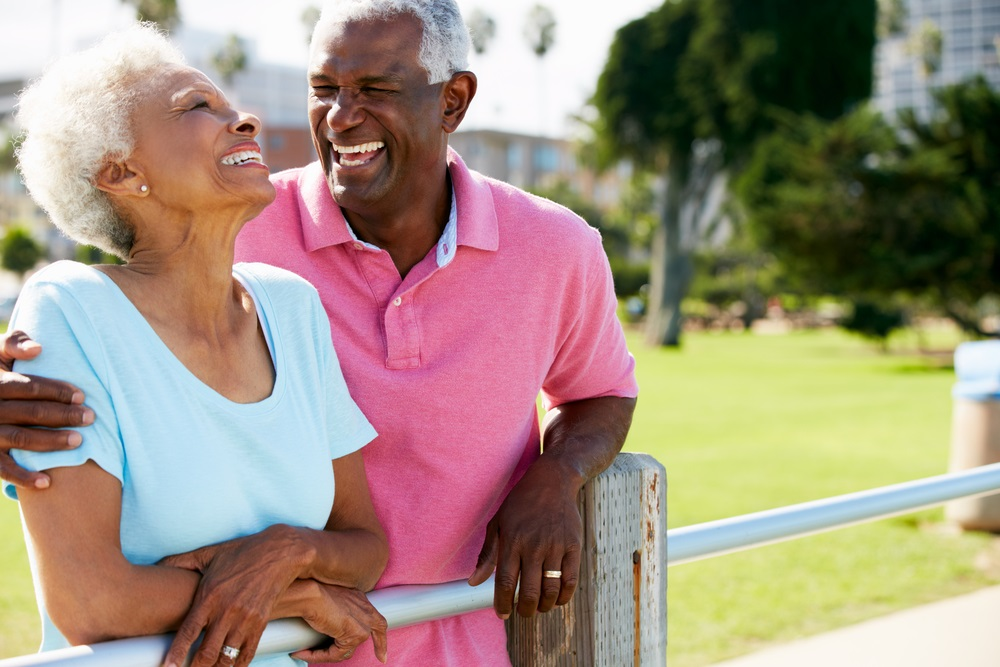 in goede gezondheid oud worden