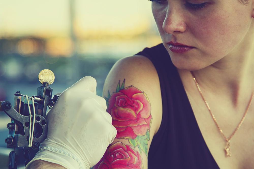 Tatoeage Met As Een Herinnering Voor Altijd