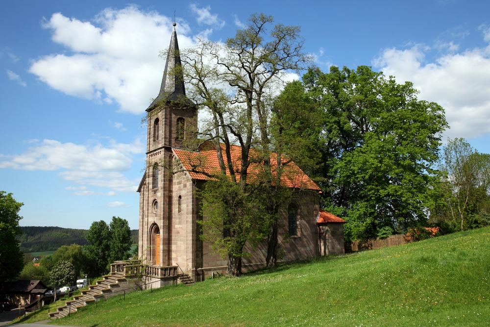 Uitvaart in een Protestantse kerk