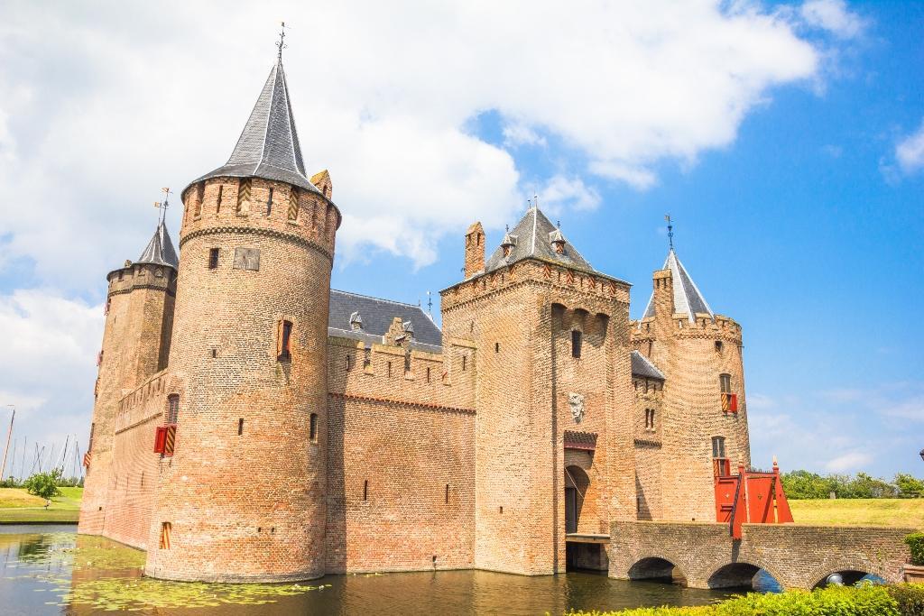 Uitvaart in een kasteel of landgoed