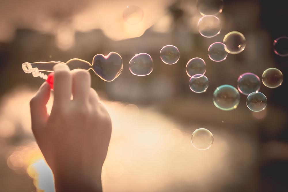 Bellenblaas hart