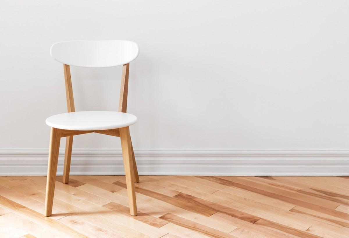Lege stoel